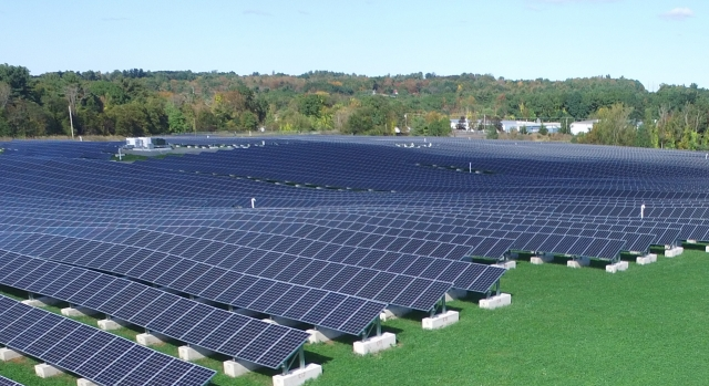 Amesbury Solar 5.9 MW Landfill Ground Mount