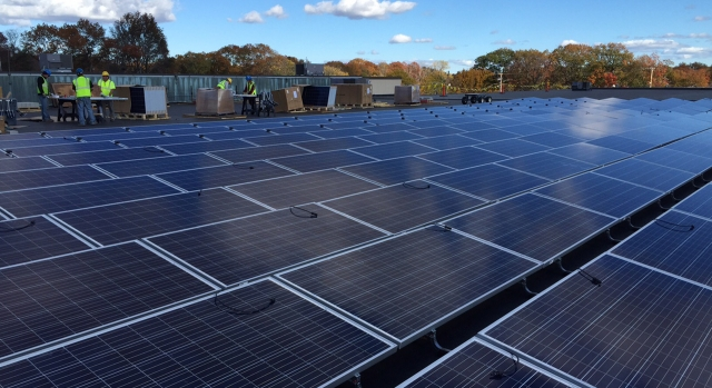 Brockton Roof Mounted 1.3 MW Solar PV