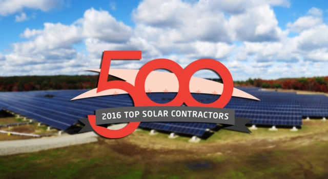 Solar Power World Names Conti Among Top 500 Solar Firms