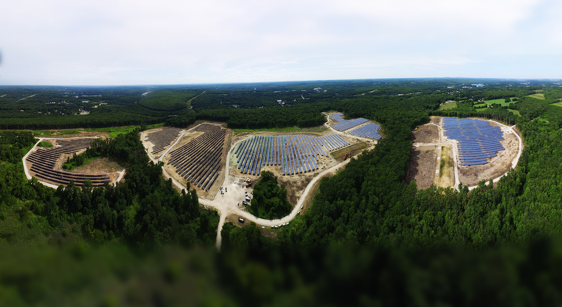 Conti Builds Large Community Solar Project