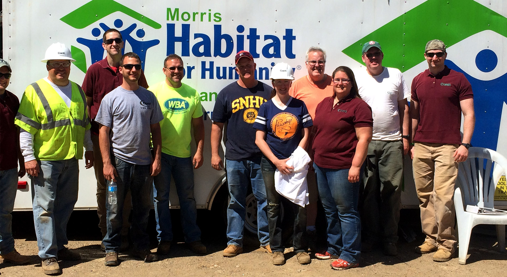 Habitat for Humanity Welcomes Conti Crews
