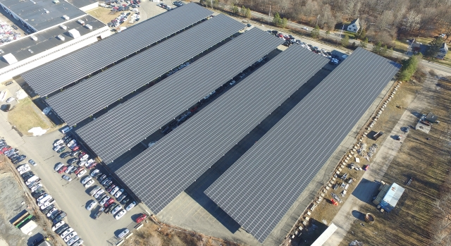 ADESA 4.23MW Carport Canopy Solar Array