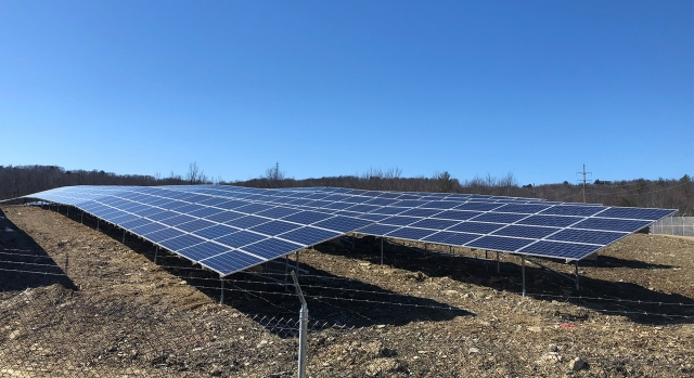 Greenville A 2.3 MW Ground Mount Array