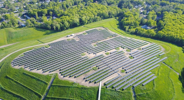 Brockton 4.4 MW Landfill Solar Array
