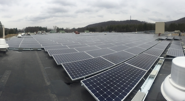 Becton Dickinson 2.6 MW Ground-Mount & Rooftop Solar Arrays