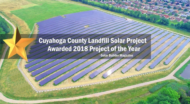 Cuyahoga County 4.0 MW Landfill Solar Array