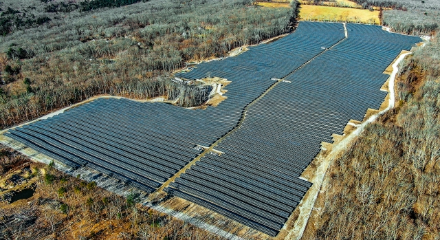 Gold Meadows 21.2 MW Ground Mount Array