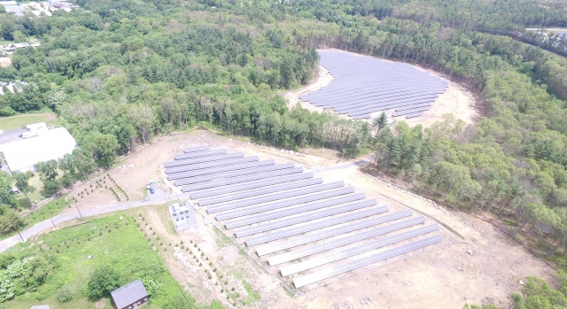 Mendon 3.3 MW Ground-Mount Solar Array
