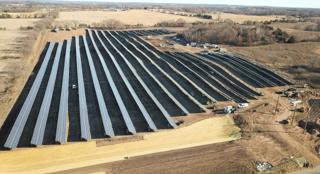 Scandia 3.3 MW Ground-Mount Solar Array