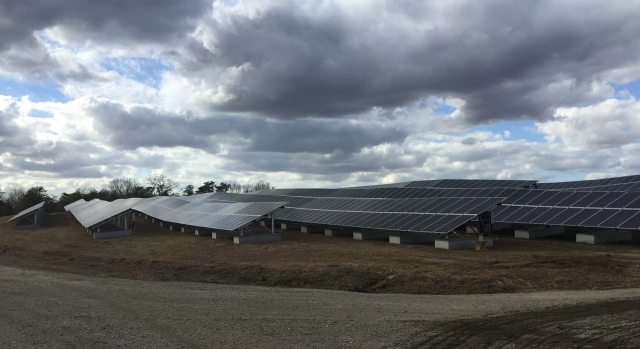 Fort Dix 16.5 MW Solar Landfill Array