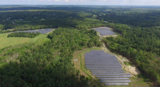 Mendon 4.01 MW Ground Mount Array