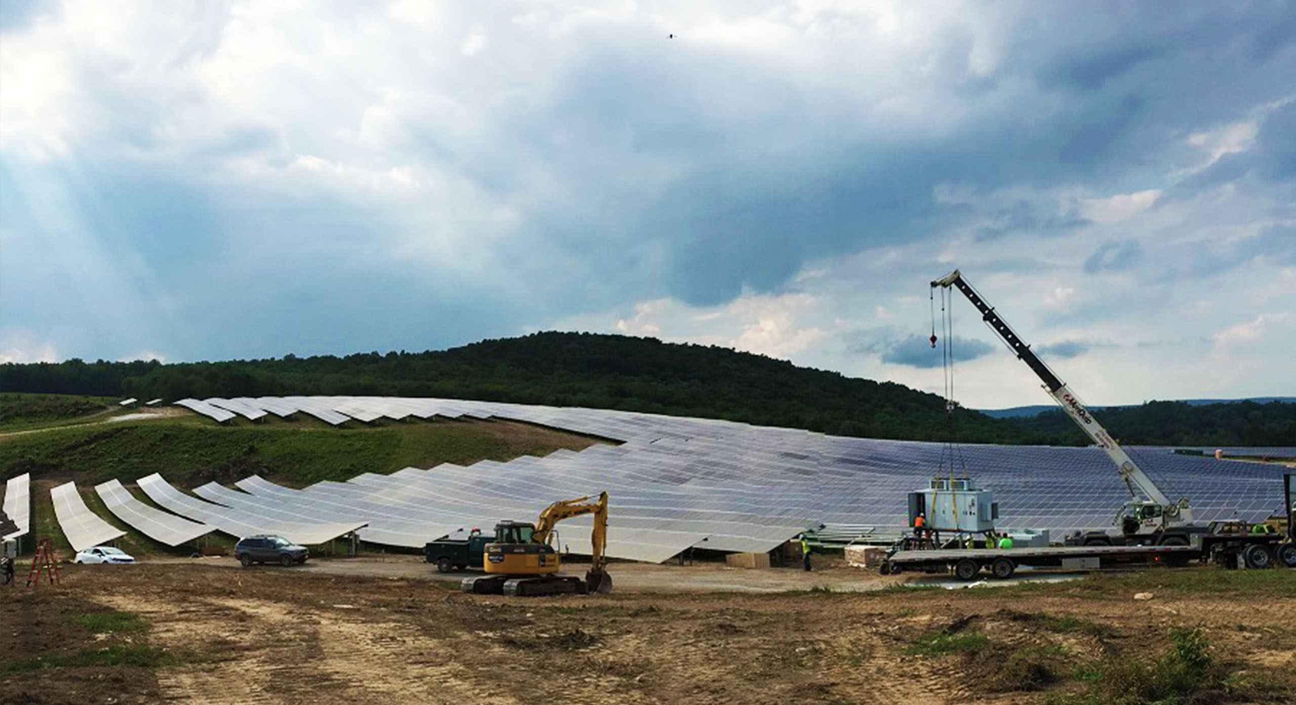 Conti Solar Steers Beaver Run Project to Strong Completion