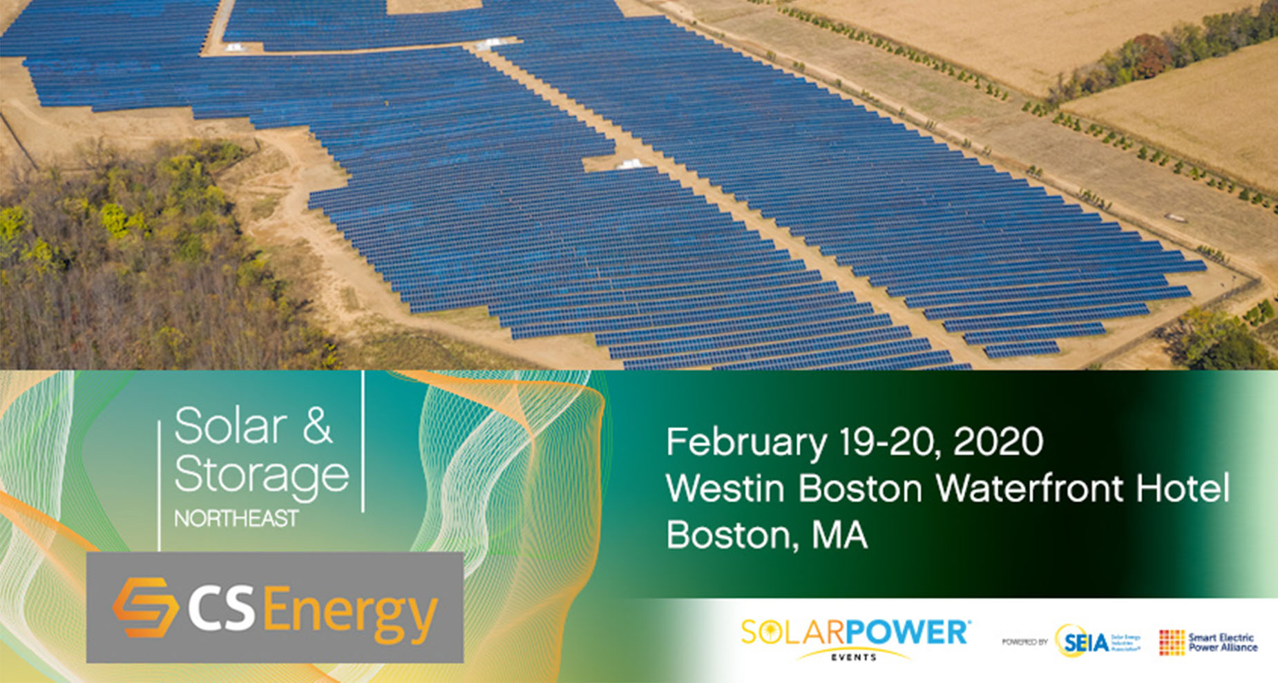 CS Energy to Attend Solar and Energy Storage Northeast in Boston